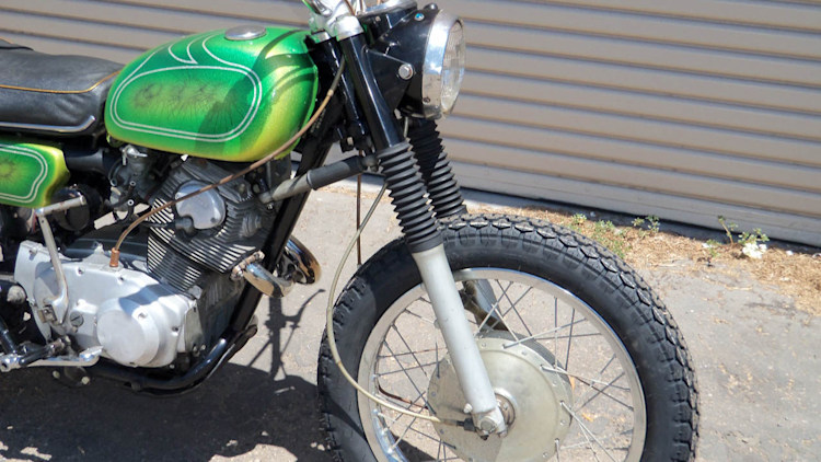 Jim Morrison S 1968 Honda 305 Scrambler Was Found On Craigslist Update Autoblog