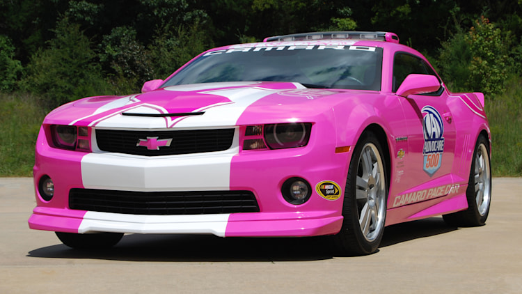 2013 Chevrolet Camaro SS breast cancer pace car