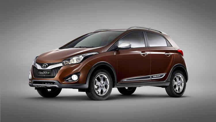 Hyundai HB20X debut at the S�o Paulo motor show