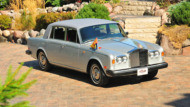 Princess Diana 1979 Rolls-Royce Silver Shadow