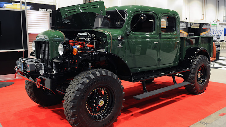 Legacy Power Wagon Conversion is three tons of vintage American iron ...