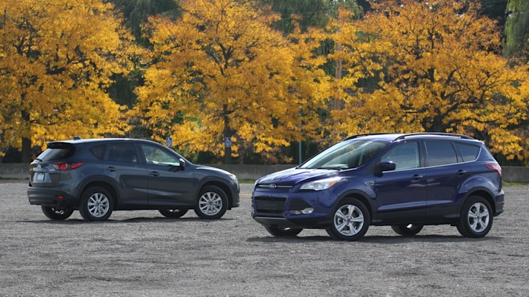 2013 Ford Escape and 2013 Mazda CX-5