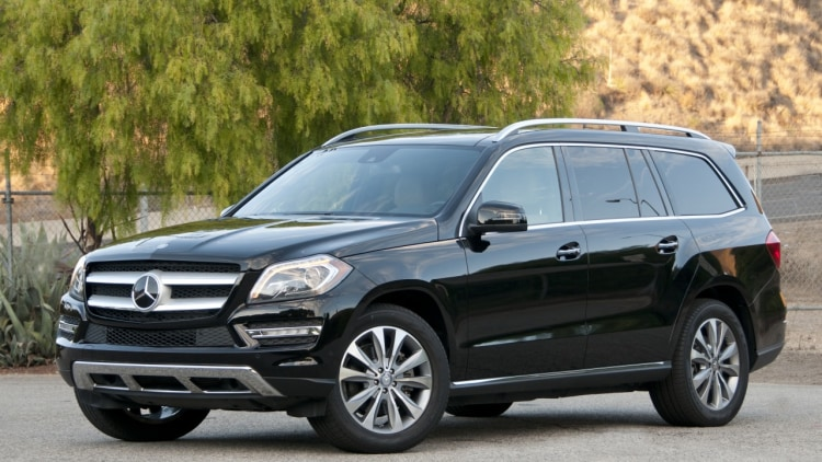 2013 mercedes benz gl350 bluetec autoblog for Mercedes benz gl 350 bluetec
