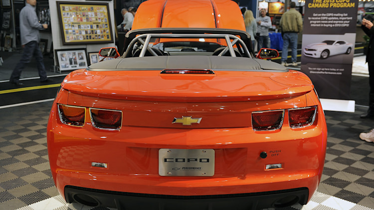 Chevrolet Camaro COPO Convertible jumps from SEMA to Barrett