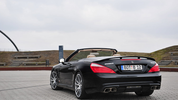 Brabus to storm Geneva with 800hp version of Mercedes SL65 AMG