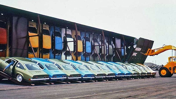 Vert A Pac Train Cars Kept Your Chevy Vega S Price In