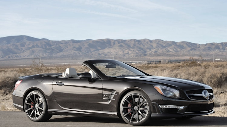Next mercedes sl to ditch retractable hardtop autoblog for Mercedes benz hardtop convertible 2014