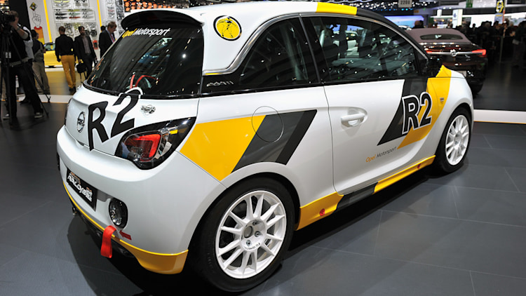 opel adam r2 rally car is a plucky little bruiser autoblog. Black Bedroom Furniture Sets. Home Design Ideas