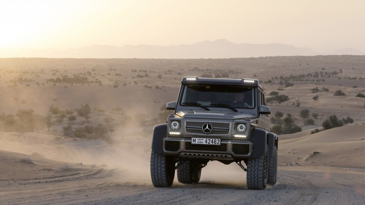 Mercedes G63 AMG 6x6 is sold out  Autoblog