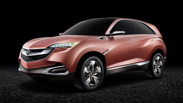 Acura Concept Suv X Is Where Brand Should Be Going W