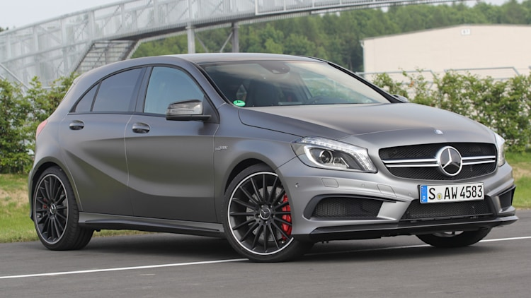 2013 Mercedes A45 AMG 4Matic wvideo  Autoblog