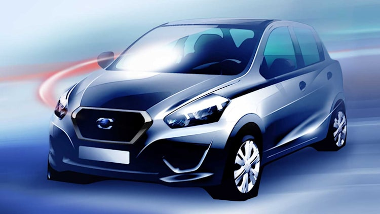 Two new Datsun models to be unveiled in New Delhi, India on July 15, 2013.