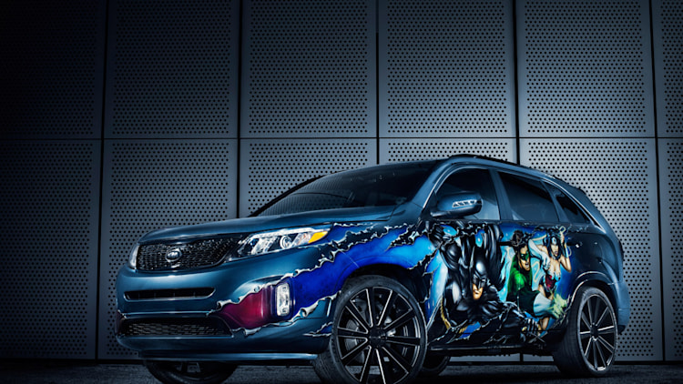 2014 Kia Sorento Justice League