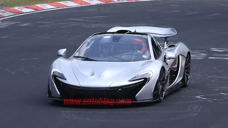 McLaren P1 XP2R Spy Shots