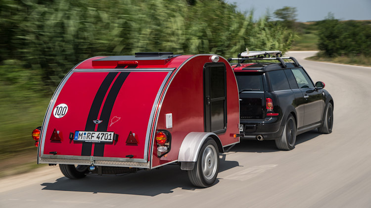 Mini Cowley caravan trailer