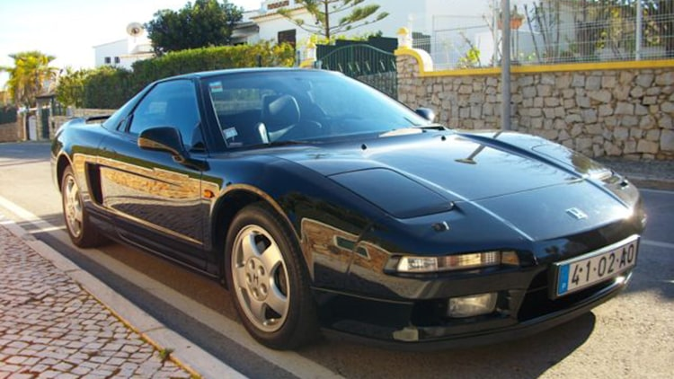1993 Honda NSX: Owned By Ayrton Senna