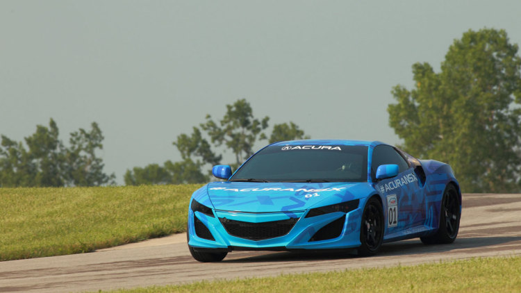 Acura NSX Prototype at Mid-Ohio