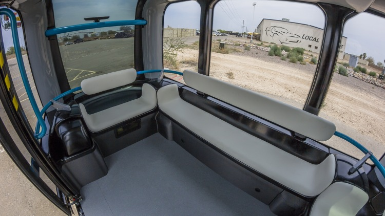The Local Motors Olli Is A Driverless Ev Minibus With Ibm