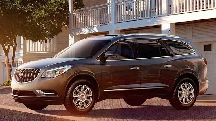 Buick Enclave in dark grey