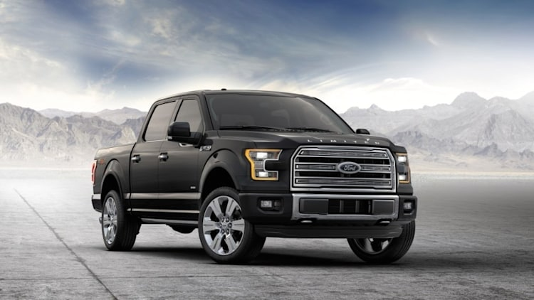 Ford F-150 in black