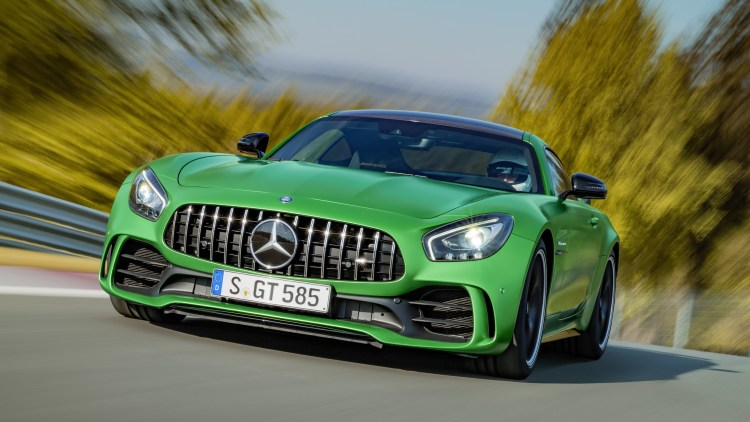 2018 Mercedes-AMG GT R front