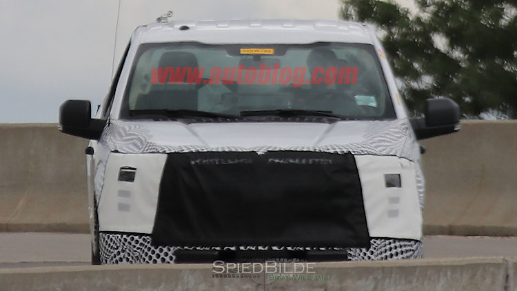 2018 ford f-150 spy photo front grille