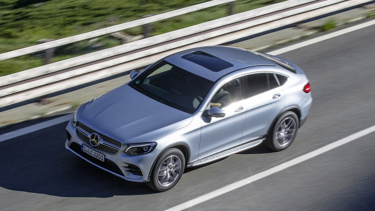 2017 mercedes benz glc300 coupe first drive photo gallery for Mercedes benz glc300 coupe