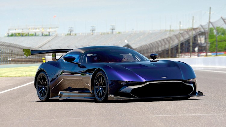 there s an 820 hp aston martin vulcan heading to auction