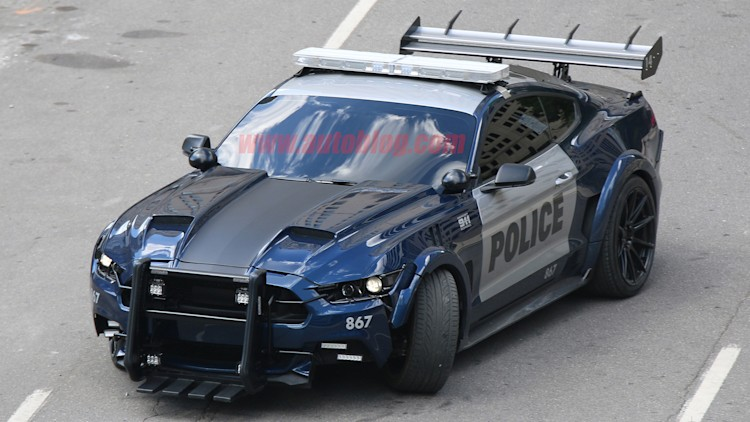 Camaro And Mustang Transformers Spied Without Disguise Autoblog