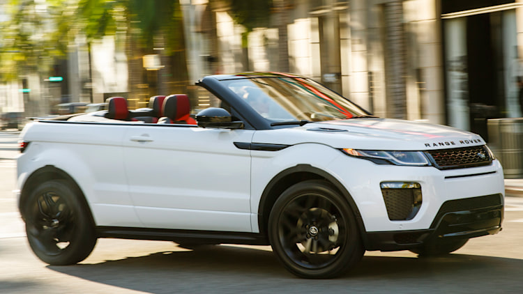 The Range Rover Evoque Convertible is absurd and strangely appealing - Autoblog