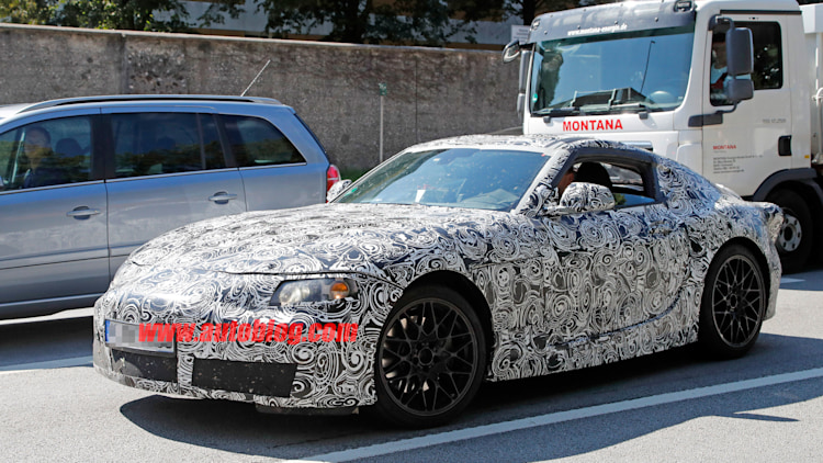 toyota supra spy photo ft-1