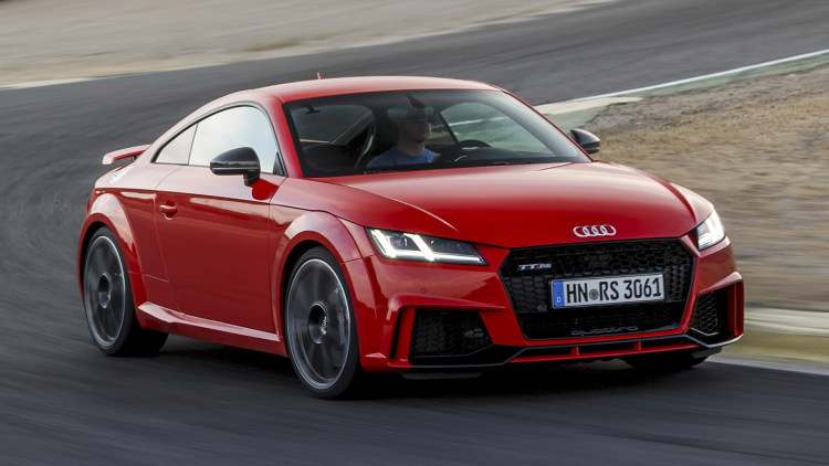 Five cylinders, no waiting   2018 Audi TT RS First Drive ...