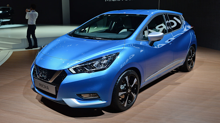 2017 nissan micra looks cuter but it 39 s still small and not for the us autoblog. Black Bedroom Furniture Sets. Home Design Ideas