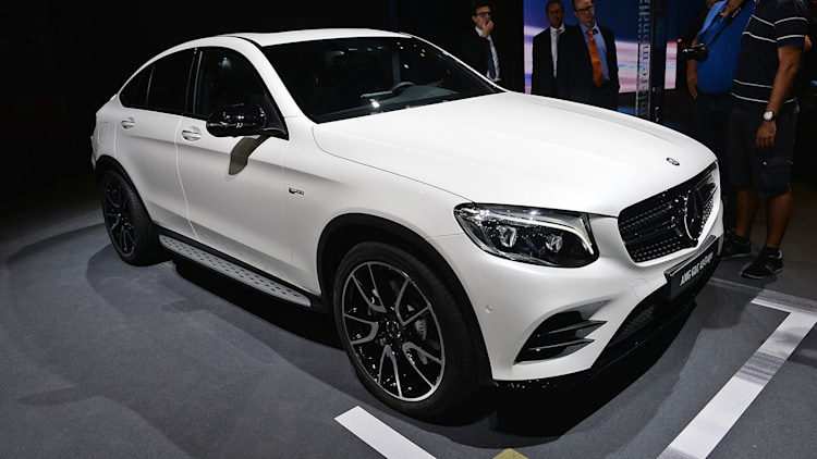 The 2017 MercedesAMG GLC43 Coupe Because everyone wants more