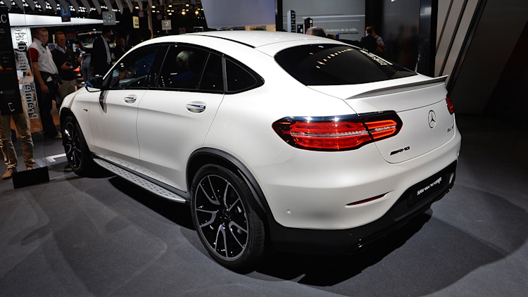 The 2017 mercedes amg glc43 coupe because everyone wants more fast