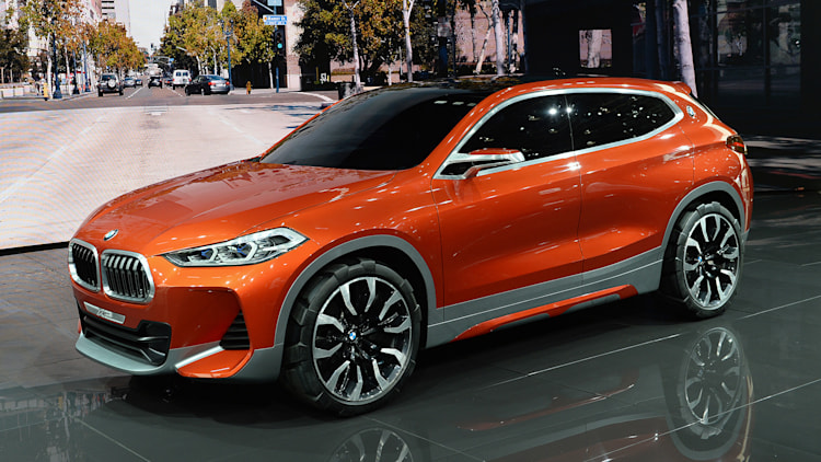 The Bmw Concept X2 Broke A Bunch Of The Brand S Design Rules Autoblog