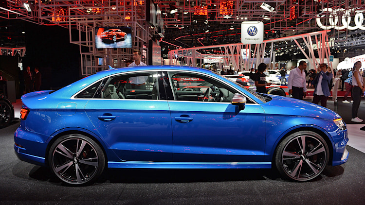The Audi RS3 shows up at Paris with five cylinders, 400 hp, and a ...
