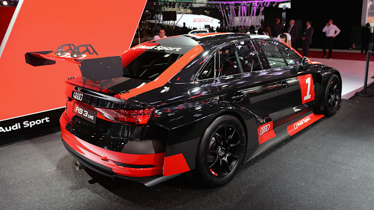 The Audi RS3 LMS looks hot and ready - Autoblog
