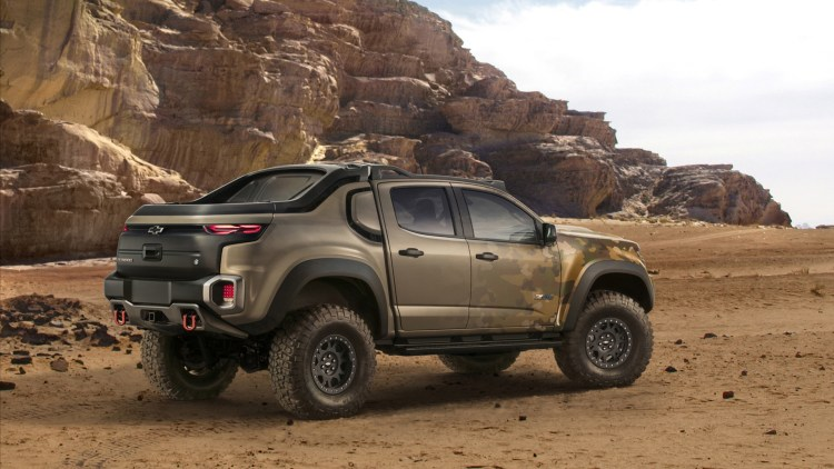 GM, US Army team up for hydrogen-powered Chevy Colorado - Autoblog