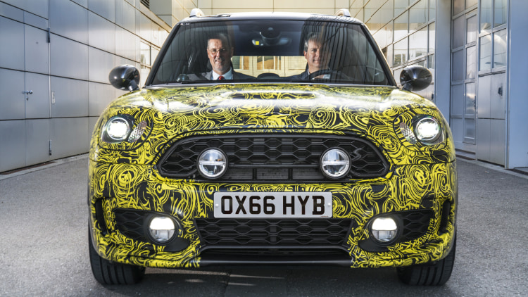 Mini Plug-In Hybrid Front End Exterior