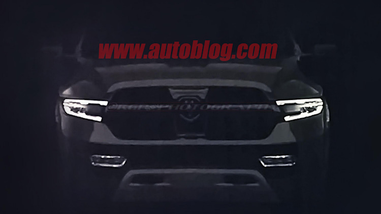 2019 Ram 1500 Dealer Leak Spy Shots Front End