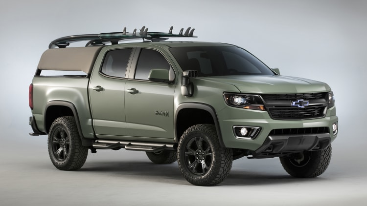 2017 chevrolet colorado z71 hurley concept photo gallery autoblog. Black Bedroom Furniture Sets. Home Design Ideas