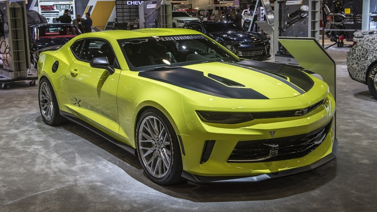 Chevrolet Camaro Turbo Autox Concept Sema 2016 Photo