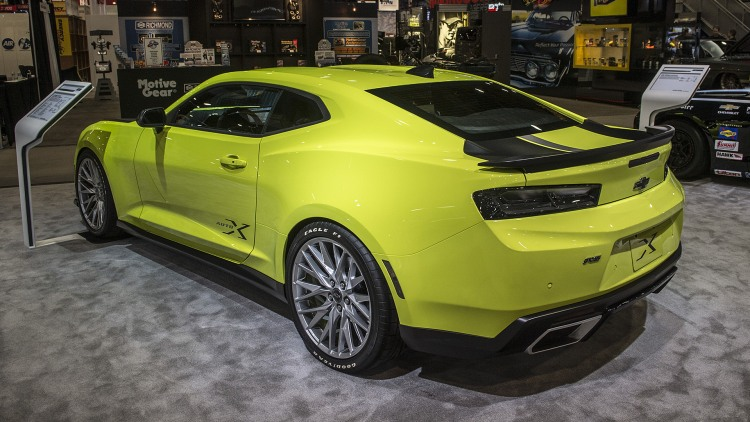 Chevrolet Camaro Turbo AutoX Concept: SEMA 2016 Photo Gallery ...