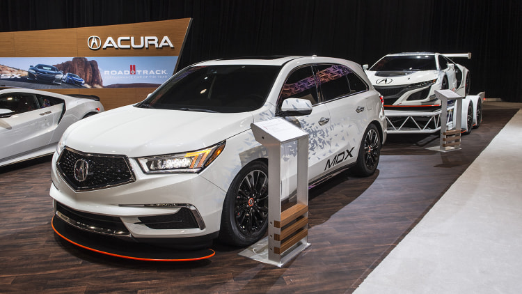 Acura's MDX SEMA concept took the wrong parts from the NSX GT3 - Autoblog