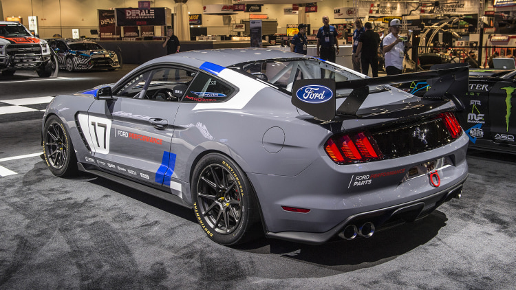 2017 Ford Mustang GT4: SEMA 2016 Photo Gallery - Autoblog