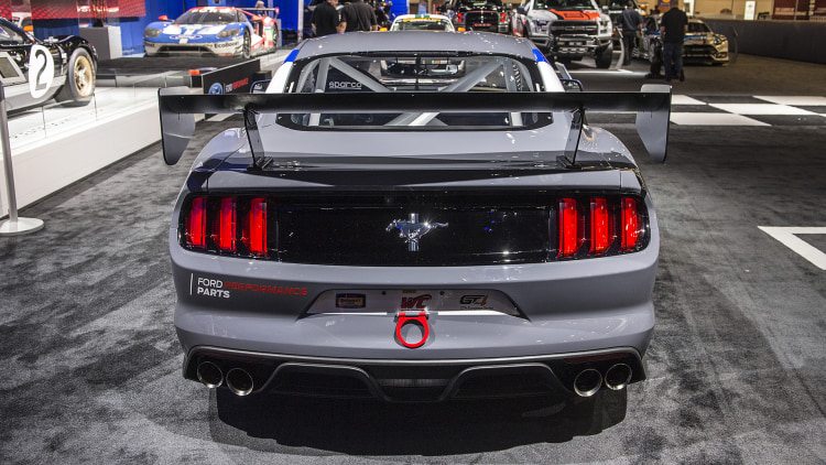 2017 ford mustang gt4 sema 2016 photo gallery   autoblog