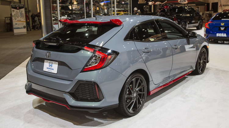 2017 honda civic hatchback hfp concept sema 2016 photo