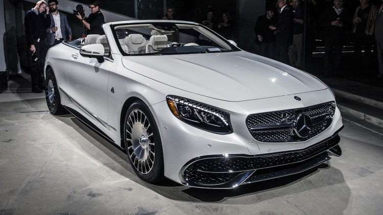 2017 mercedes maybach s650 cabriolet unveiling photo for Mercedes benz s650