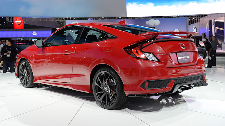 Honda Civic Si Prototype: LA 2016 Photo Gallery - Autoblog